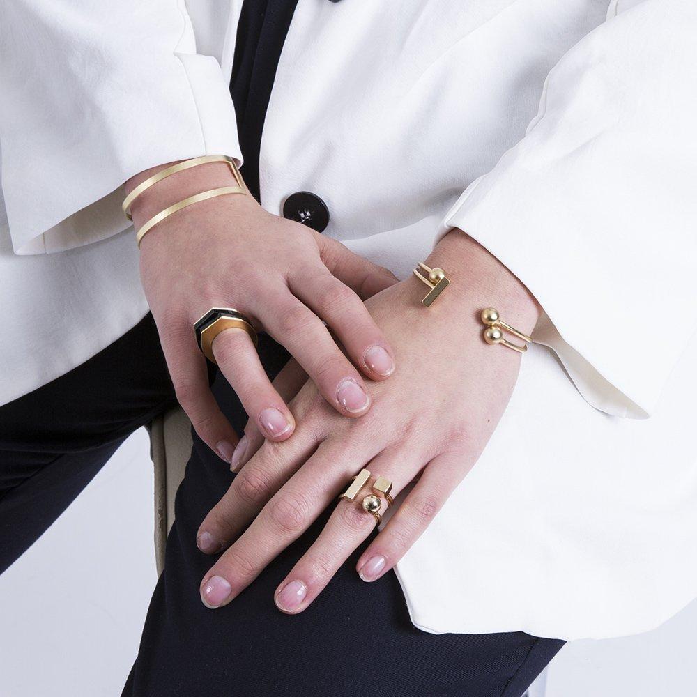 צמיד נויה, צמיד כדורים פתוח, טבעת עזריאליף טבעת מיכאלה יהלום, צמיד חיתוכים פתוח