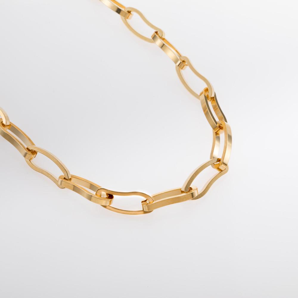 שרשרת אמורפית זהב