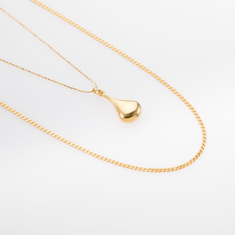 שרשרת זהב כפולה
